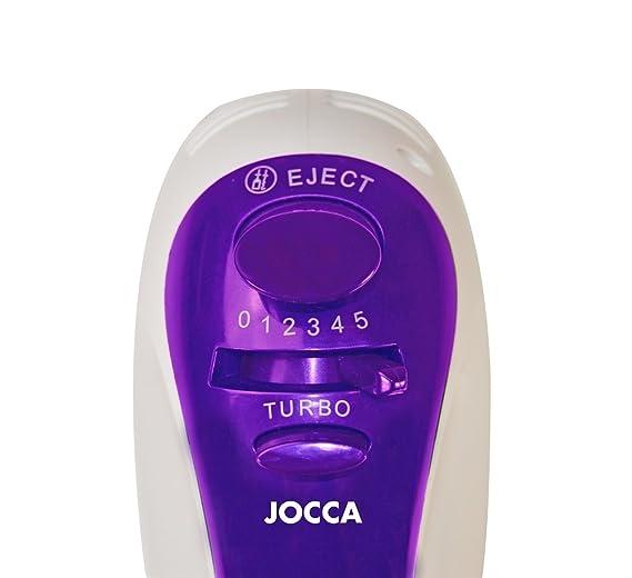 Jocca 5528M Batidora amasadora, color morado y blanco, 200 W: Amazon.es: Hogar