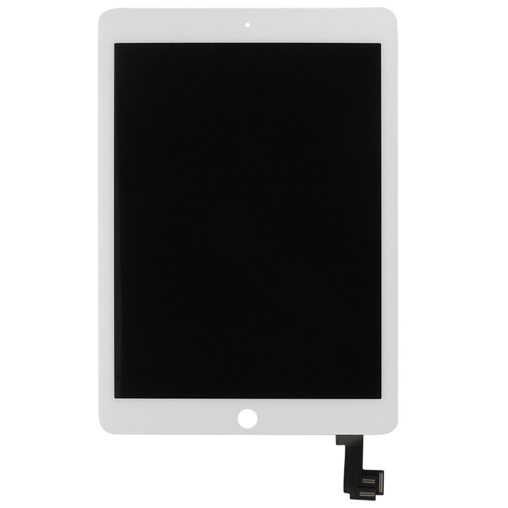 iPartsBuy LCD Display + Touch Screen Digitizer Assembly for iPad Air 2 / iPad 6 (White) by iPartsBuy
