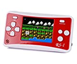 8 bit video game console - JJFUN RS-1 Handheld Game Console for Kids,Retro Game Player with 2.5