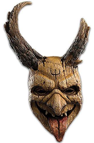 (Loftus International Trick or Treat Studios Krampus Sheep-Cote Elf Full Head Mask Beige One-Size Novelty)