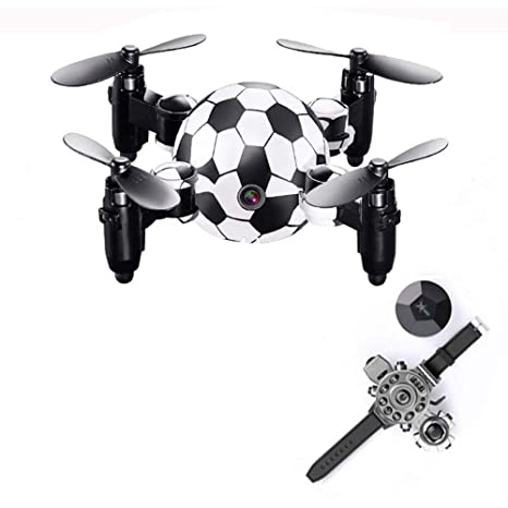 XINGXIANYIGOU Dron portátil Plegable, Controlador de muñeca ...