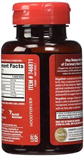 Megared omega 3 krill oil 300 mg mega red 110 softgels for Mega red fish oil