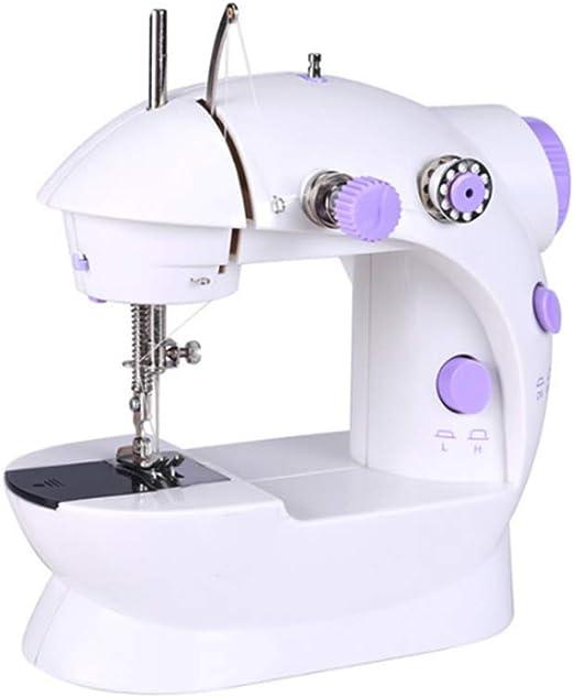 GSKTY Máquina de coser Hogar escritorio Mini máquina de coser ...