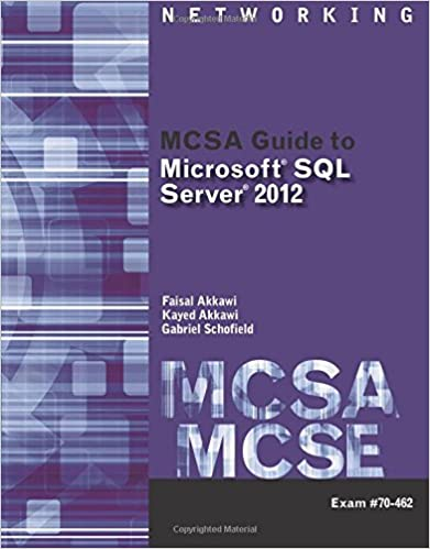 ''BETTER'' MCSA Guide To Microsoft SQL Server 2012 (Exam 70-462) (Networking (Course Technology)). remember Often better pestanas primary