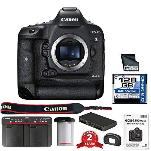 Canon EOS-1D X Mark II Digital SLR Camera Body (International Model) (Starter Bundle)