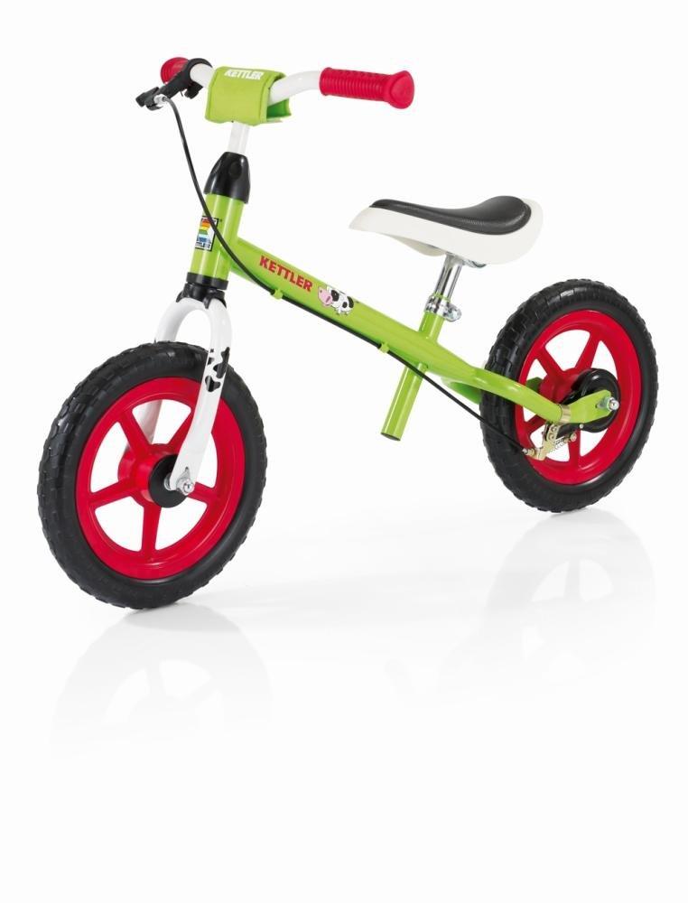 Kettler Rueda de Speedy Emma 2.0 - Color: Verde y Rojo - Neumáticos tamaño: 12,5 Pulgadas, a Partir de 2 años - El Ideal Unidad Aprendizaje Rueda - Máxima ...