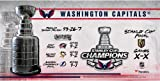 Washington Capitals 2018 Stanley Cup Champions Crystal Stanley Cup Trophy - Filled with Ice From the 2018 Stanley Cup Final - Fanatics Authentic Certified