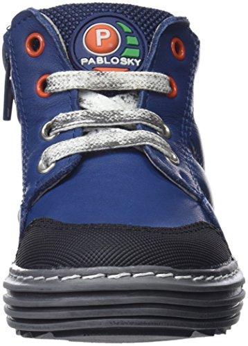 Bottes azul Et Souples Bleu Garçon Bottines Pablosky 587342 587342 H5xqCOww1