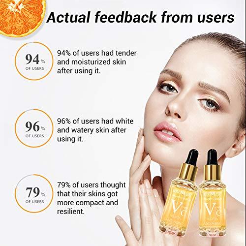 51s0l4V3w3L - Vitamin C Serum, BREYLEE Anti-Aging Facial Serum with Hyaluronic Acid, Retinol, and Vitamin E Moisturizing Face Serum for Skin Whiten Skin Brighten, Fades Sun Spots (40ml, 1.41oz)