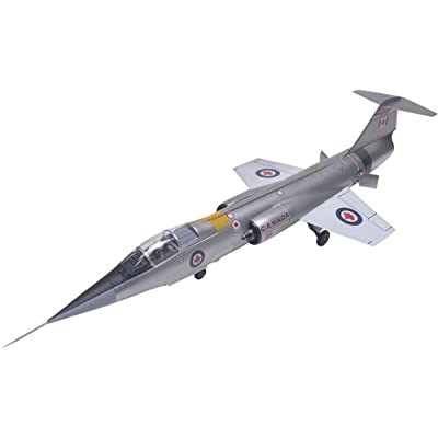 Revell F-104G Starfighter RCAF Plastic Airplane Model Building Kit, 1:48 Scale: Toys & Games