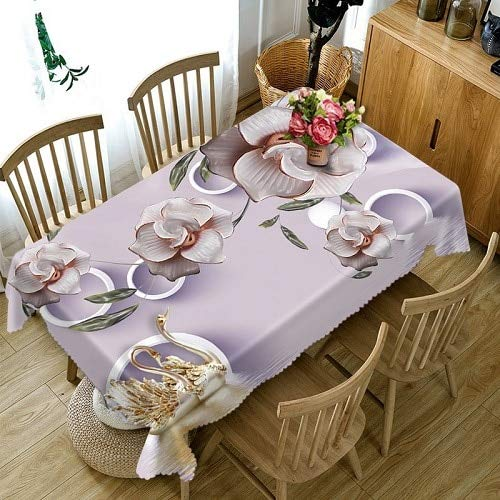 JJLESUN2 Mantel Transparente Cofffee Dining Mesa De Mantel ...