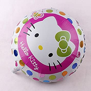 Amazon.com : New 1PC 18inch Hello Kitty Balloons Decoracion ...