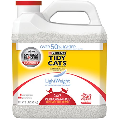 Purina Tidy Cats LightWeight 24/7 Performance for Multiple Cats Clumping Cat Litter