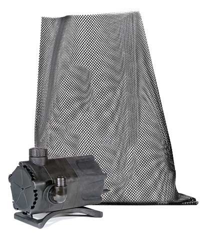 Premium Pump Pond (Premium Pond Pump with Mesh Bag, 1900 gph)
