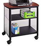 Safco Impromptu Deskside Machine Stand, Black, 1857BL