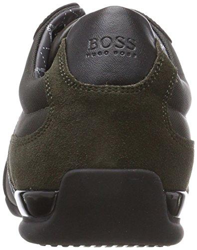 Scarpe Dark Spacit BOSS da 308 Uomo Ginnastica Green Basse Athleisure Verde B7B6qxS4