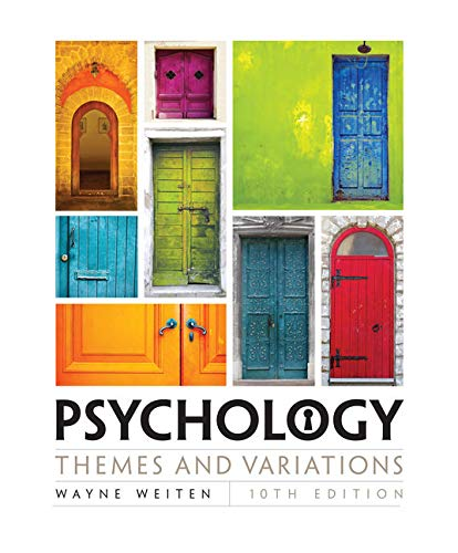 Psychology: Themes and Variations by Cengage Learning