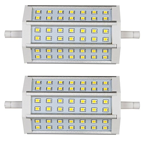 HERO-LED R118-DIM-10W-WW Dimmable Double Ended 118mm R7s Base LED Halogen Replacement Bulb, 10W, 85W Equal, Warm White 3000K, 2-Pack