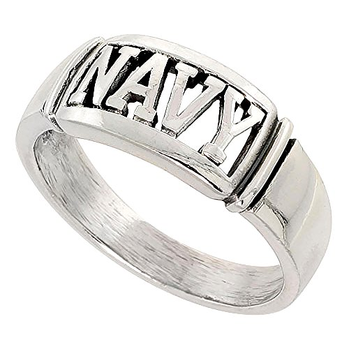 Sterling-Silver-US-NAVY-Ring-for-Women-38-inch-sizes-8-14