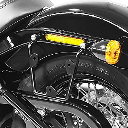 Telaietto supporto borse laterali Compatibile con Harley-Davidson Softail 1988-2017 Craftride XL