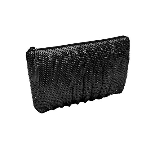 whiting-and-davis-classic-soft-shirred-clutch-black