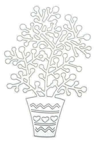 (キッズ ハウス)KIDS HOUSE 鉢植え エンボステンプレート ペーパーエンボス 切削ステンシルの商品画像