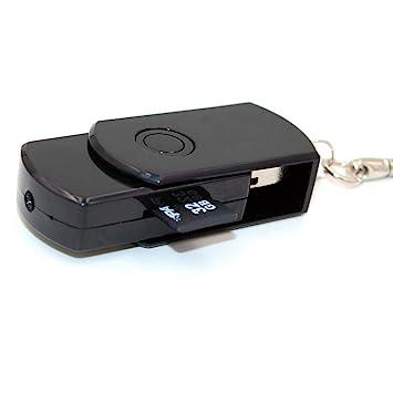 Codomoxo®: llavero con memoria USB y minicámara espía HD.: Amazon.es: Deportes y aire libre