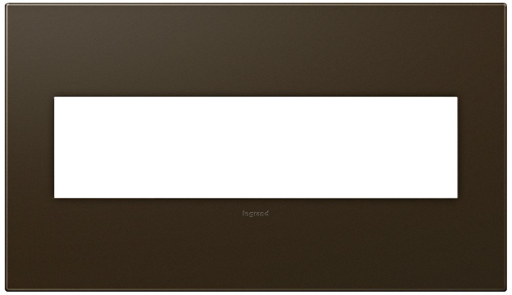 adorne 4-Gang Bronze Wall Plate by ADORNE