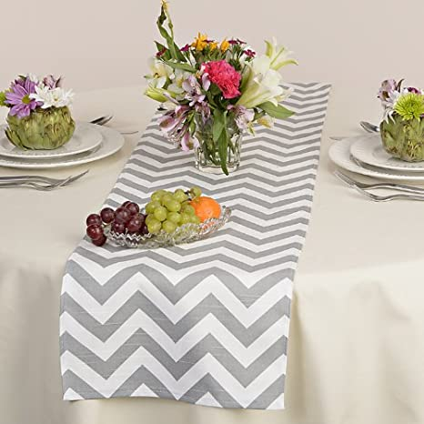 Awesome Appleberry Attic Chevron Table Runner Collection (Grey) Handmade In USA:  Amazon.com: Grocery U0026 Gourmet Food
