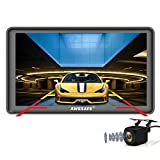 """Car GPS Navigation with Rear View Camera ,AWESAFE 7"""" Bluetooth Capacitive Touchscreen System North America with Lifetime Map Updates"""