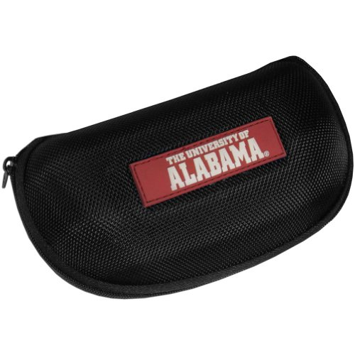 NCAA Alabama Crimson Tide Hard Shell Glasses Case, Black
