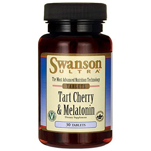 Swanson Tart Cherry & Melatonin 30 Tabs