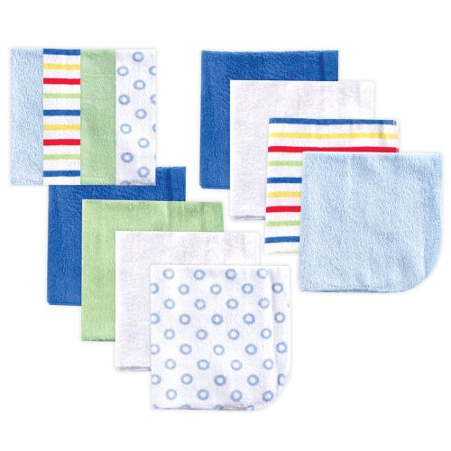 luvable-friends-12-pack-washcloths-blue