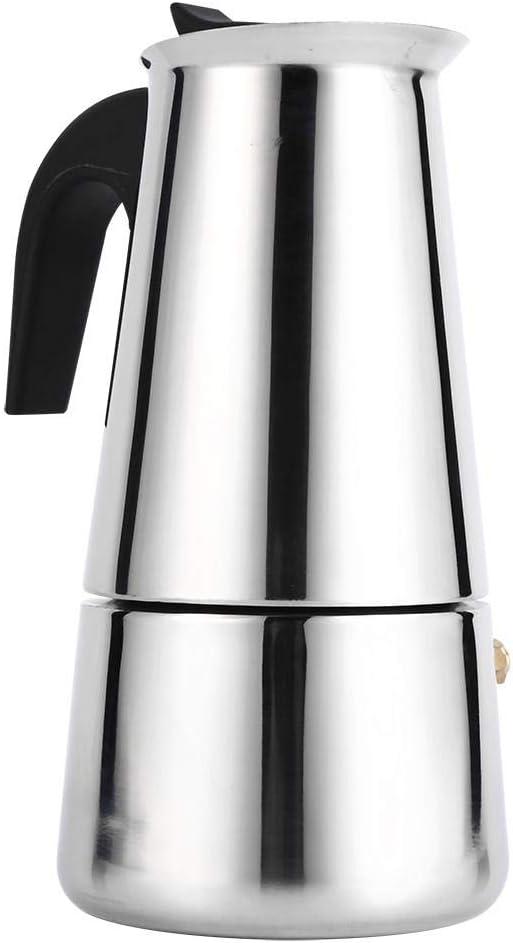 Cafetera para hacer espresso, cafetera italiana reutilizable de café Moka con mango de baquelita Moka Express para la casa, la oficina.(300ml): Amazon.es: Hogar