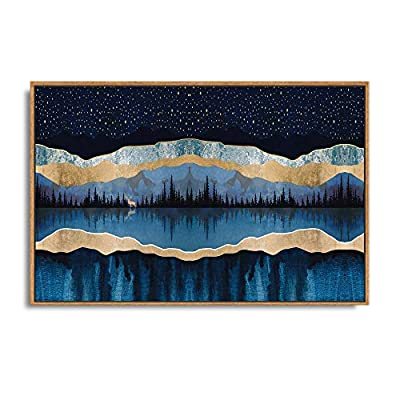 Wonderful Technique, Top Quality Design, Framed Home Artwork Abstract Mountain Nature Scenery for Living Room Bedroom