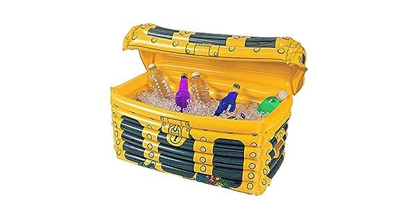 Amazon.com: Cubo de hielo inflable caja de tesoros de PVC ...