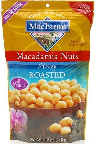 Honey Roasted Macadamia Nuts 12 oz. by MacFarms