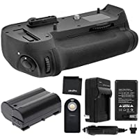 Battery Grip Bundle F/ Nikon D800, D810: Includes MB-D12 Replacement Grip, EN-EL15 Long-Life Battery, Travel Charger, UltraPro Accessory Bundle