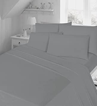 Thermal Flannelette Flat Sheets Non Iron Bed Sheets New Single Double King  Size 180 Tread Count