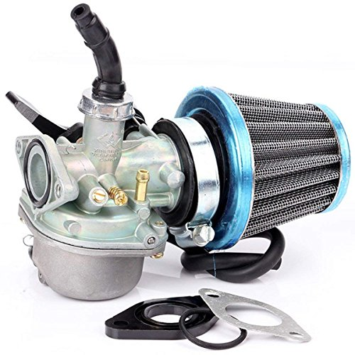 EVINIS ATV Carburetor PZ19 + 35mm Air Filter for 50cc 70cc 90cc 110cc 125cc ATV Dirt Pit Bike Taotao Honda ()