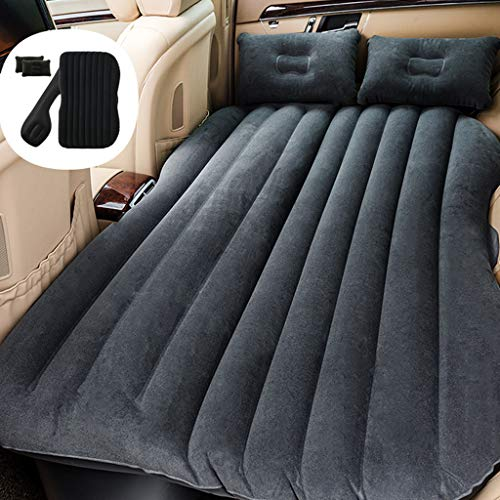 Ship from USA -Sttech1 Inflatable Car Air Mattress Camping Inflation Bed Travel Air Bed Car Back Seat