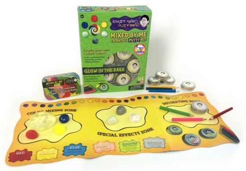 Crazy Aaron's MIXED BY ME - GLOW Kit Thinking Putty Kit CREATE YOUR OWN DIY mix