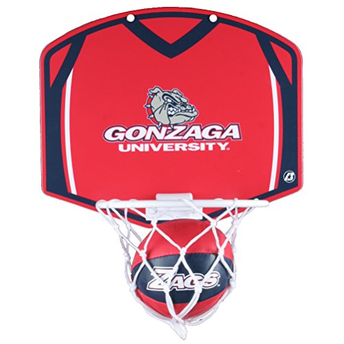 Gonzaga Bulldogs Mini Basketball And Hoop Set ()