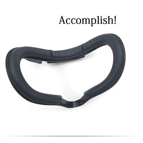 Visión (mejor FOV) cara Espuma Acolchado Ojo de repuesto para Oculus Rift auricular VR PU piel schaumstoffabdeckung: Amazon.es: Electrónica