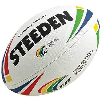 Steeden clásico balón de Rugby: Amazon.es: Deportes y aire libre