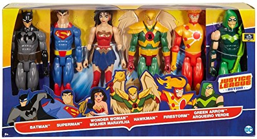 Mattel DC Comics Justice League 6 12 Inch Action Figure Team