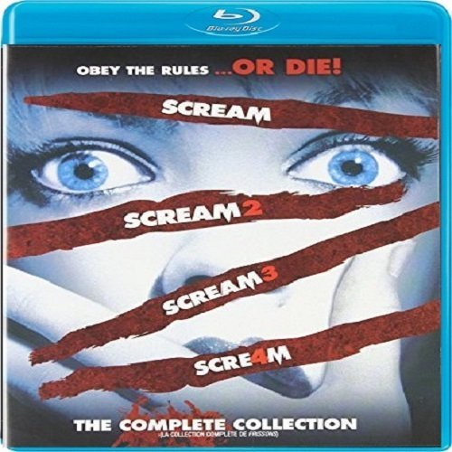 The Complete Scream Collection (Scream 1-4) / Frissons: La Collection Complète (Frissons 1-4) [Blu-ray]