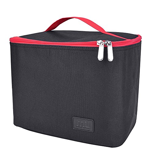 Insulated Cooler Lunch Bag; MIU COLOR Collapsible Lunch Box for Adults, Kids, School, Work, Outdoor