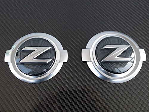 JDM FRONT & REAR SMOKE Z-LOGO EMBLEM FOR 2009-2015 NISSAN 370Z (Automatic Lambo Doors compare prices)