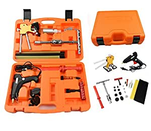 dent repair kit paintless dent removal kits furuix 37pcs hail damage repair kit auto. Black Bedroom Furniture Sets. Home Design Ideas